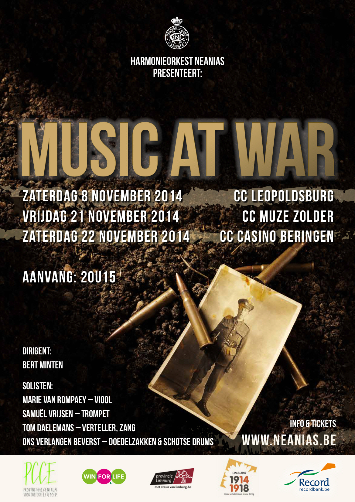 Music at War Sponsors